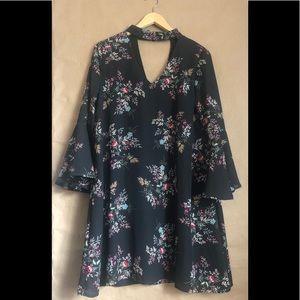 ▫️Francesca's▫️  floral print Miami  dress